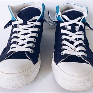 Converse CT Sz 8.5 All Star Blue HighTop Trainers